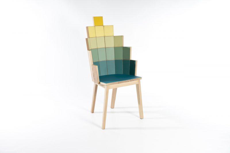 seduta mosaico