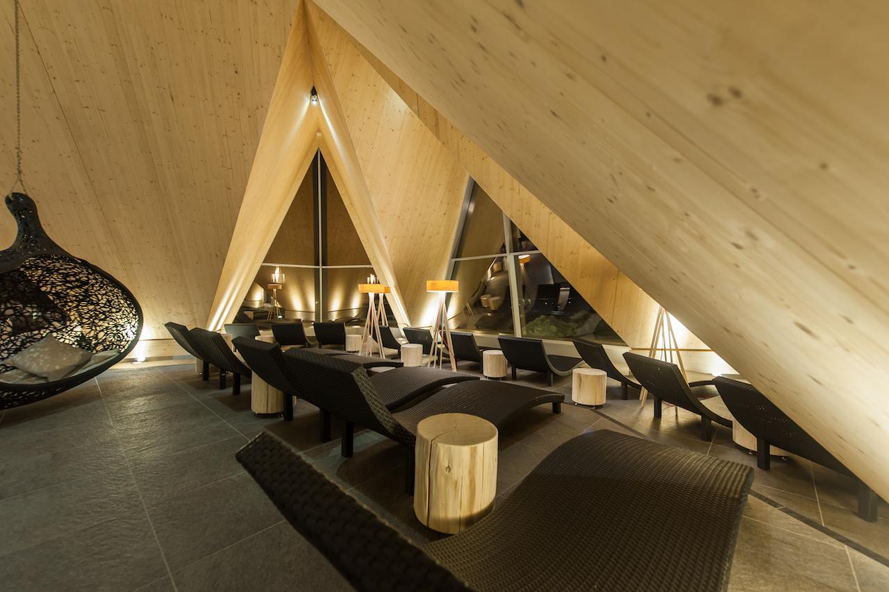 aqua dome Tirol. Relax area