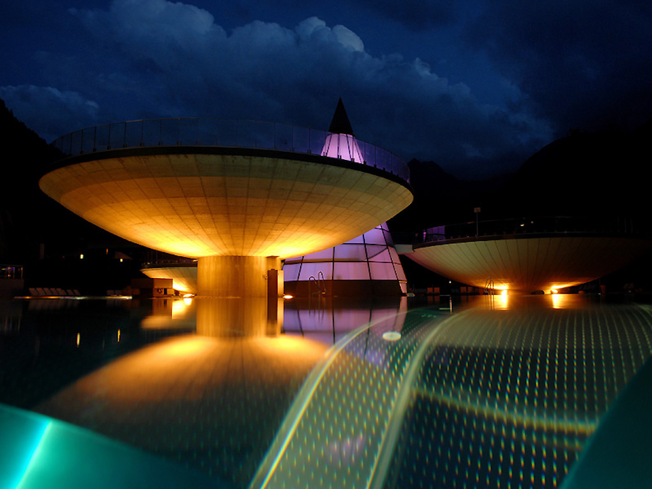 Aqua Dome Tirol. Outdoor pool