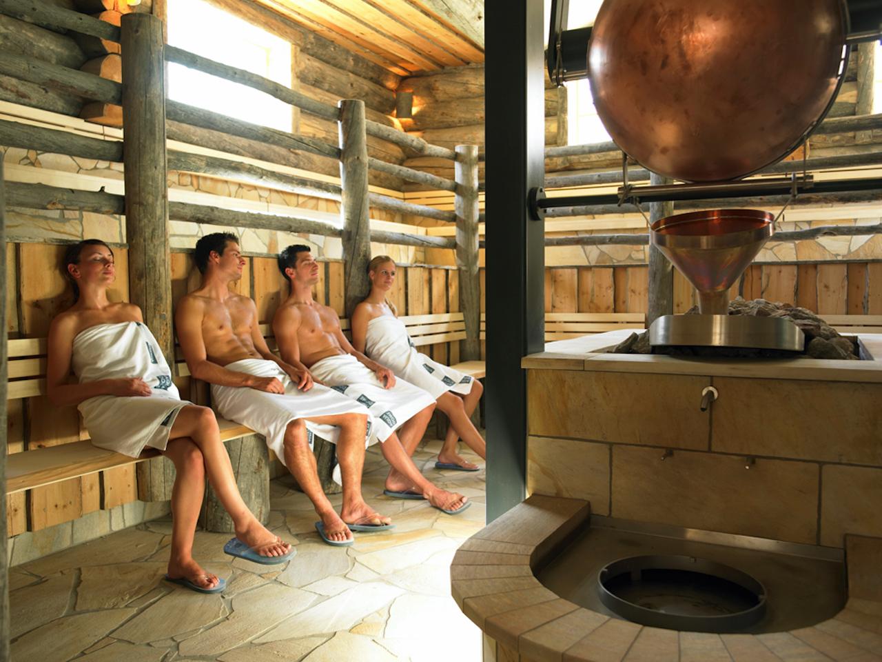 Aqua Dome Tirol. Loft Sauna