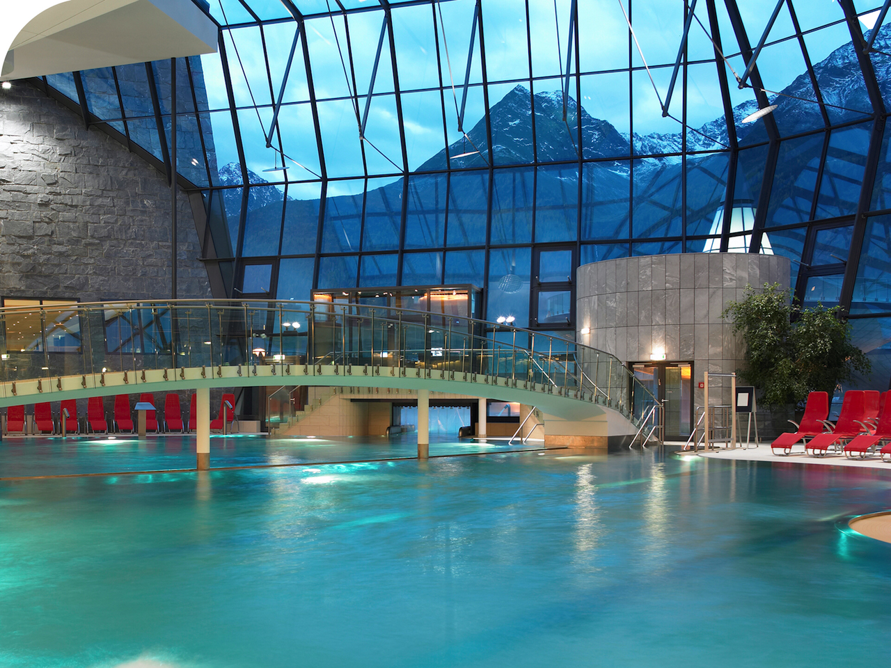 Aqua Dome Tirol. Indoor Thermal pool 2
