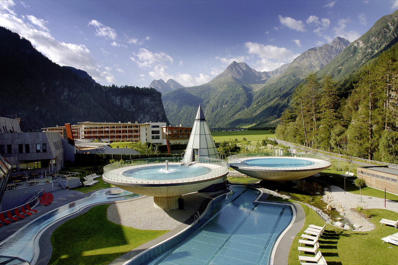 Aqua Dome Tirol. Outdoor