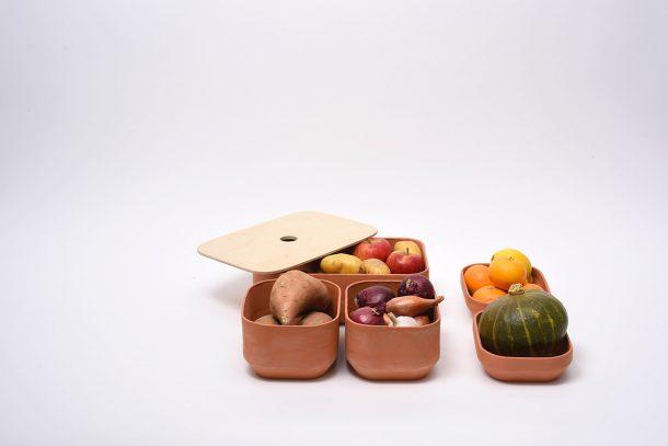 contenitori in ceramica
