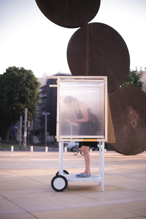 confessionale mobile