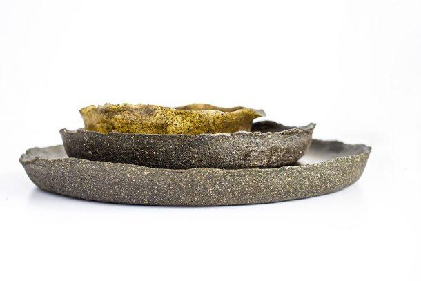 piatti legno riciclato