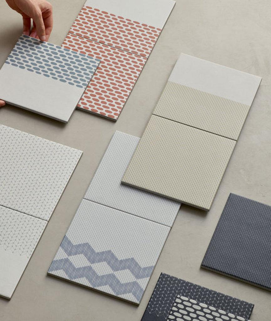 Tape la nuova collezione di piastrelle colorate di raw edges design street - Piastrelle disegnate ...