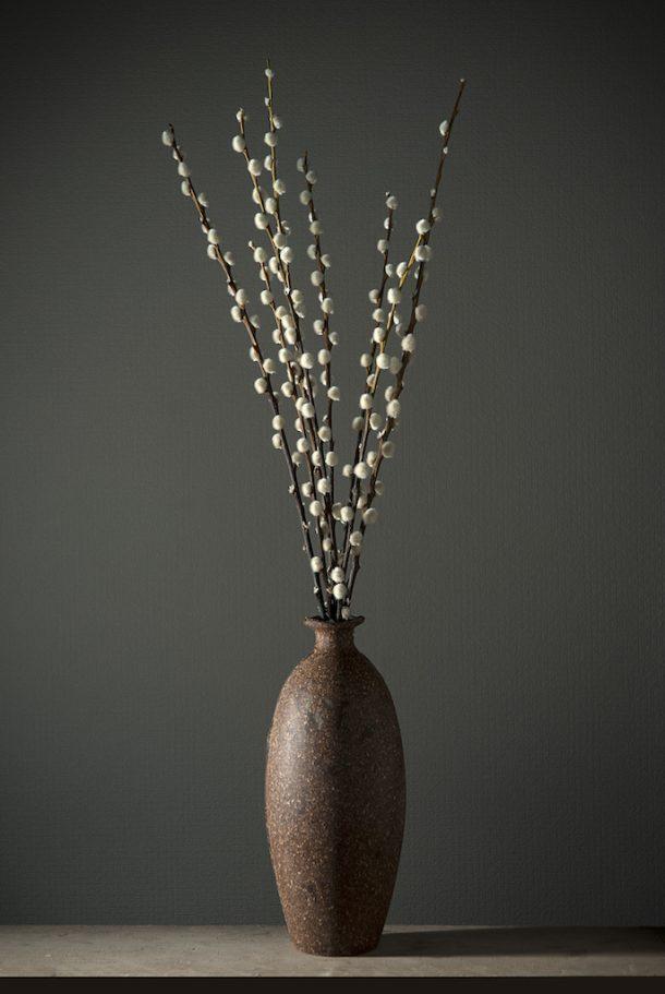 LOEV: LAMPADE E VASI IN GOMMA E SUGHERO