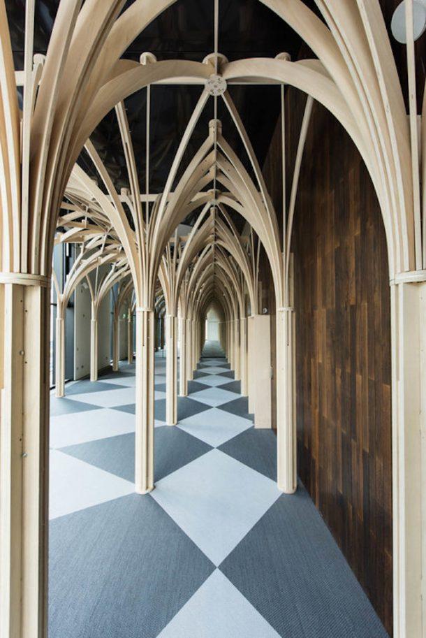 installazione gotico