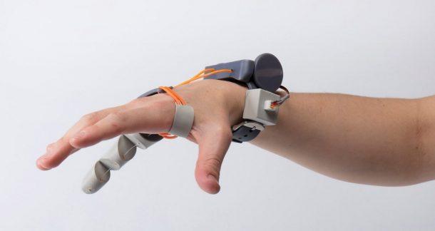 dito stampato in 3D