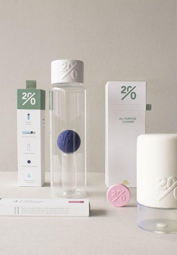 Twenty packaging