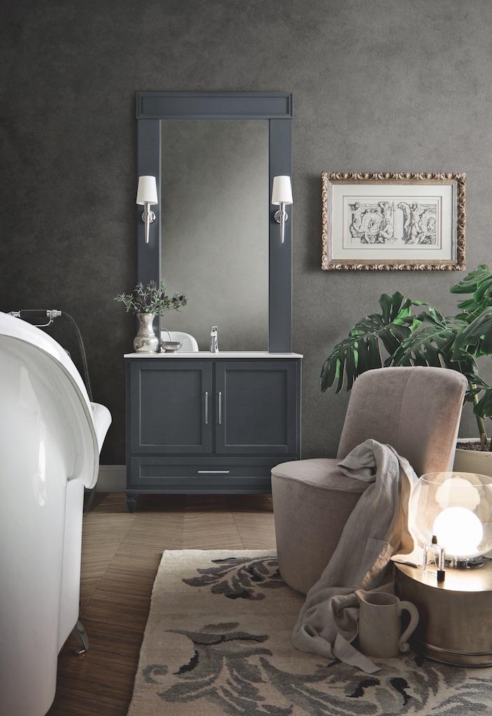Il total look di cerasa esce dalla stanza da bagno for Copia mobili di design