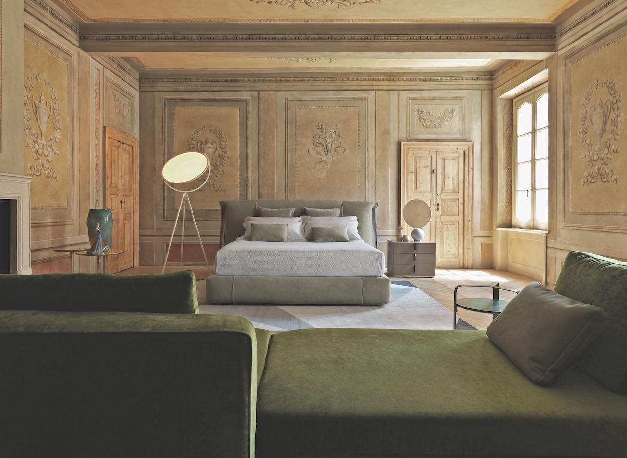 Il letto Amal di Flou: i dettagli che fanno la differenza DESIGN STREET
