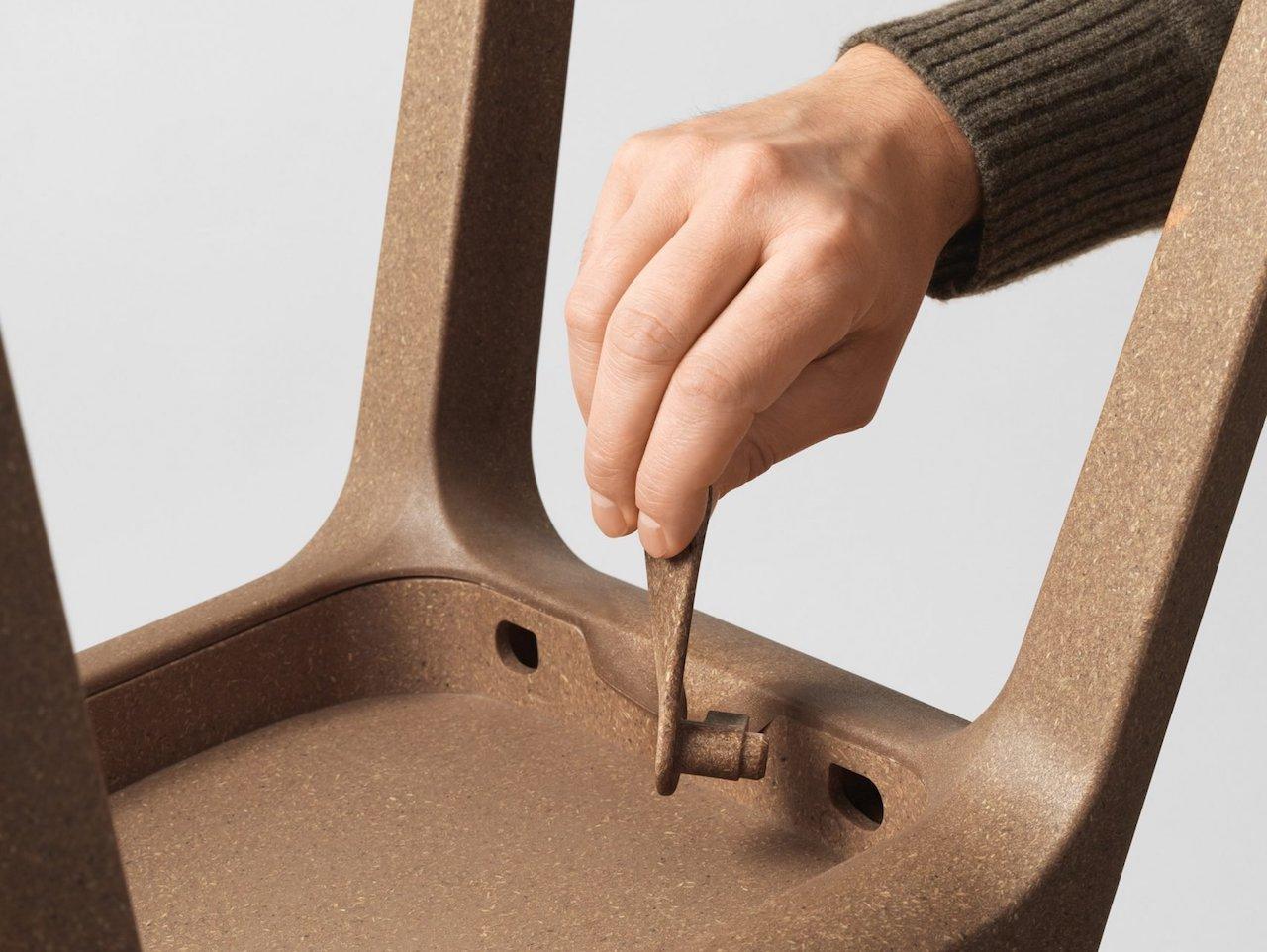 Sedie In Legno Ikea : Odger la nuova sedia ikea nata dal materiale riciclato design