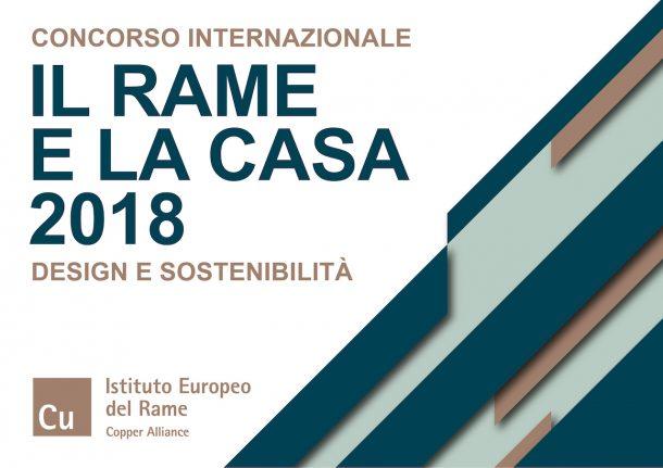Concorso di design IL RAME E LA CASA 2018