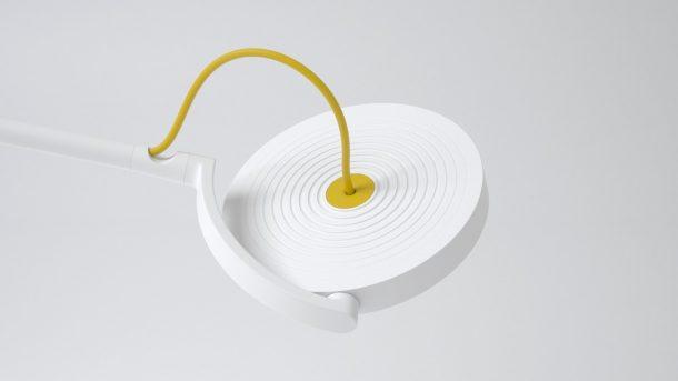 Lampada MyLiFi. Design, Pierre Garner di eliumstudio per Oledcomm