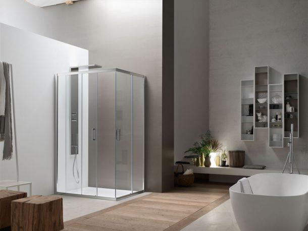 AKS living shower, Arcom