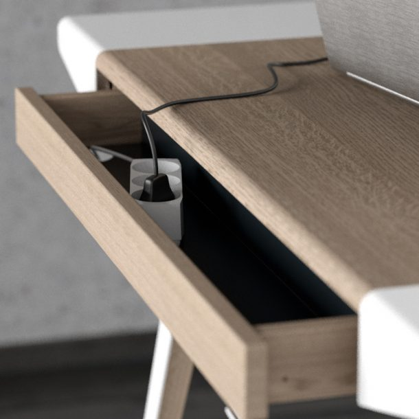 Ambitions desk, la scrivania home office di design di Vita Copenhagen