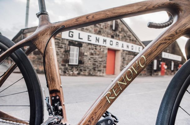 Glenmorangie bike, la bici fatta col legno delle botti di whisky