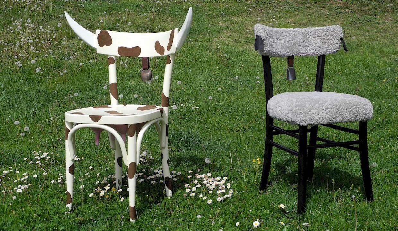 Larte del riciclo: le sedie creative a forma di animali design street