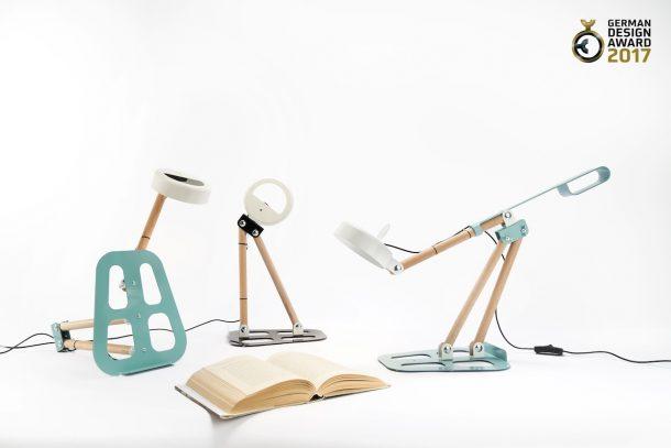 Delineodesign: lampada componibile Giacolù per Zava