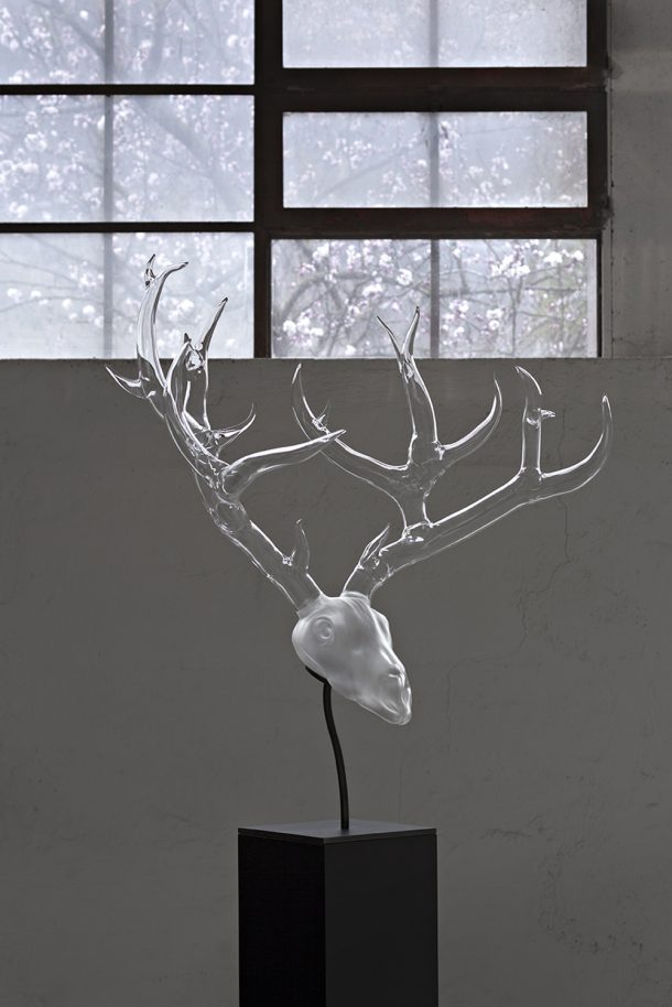 La wunderkammer di cristallo di Simone Crestani