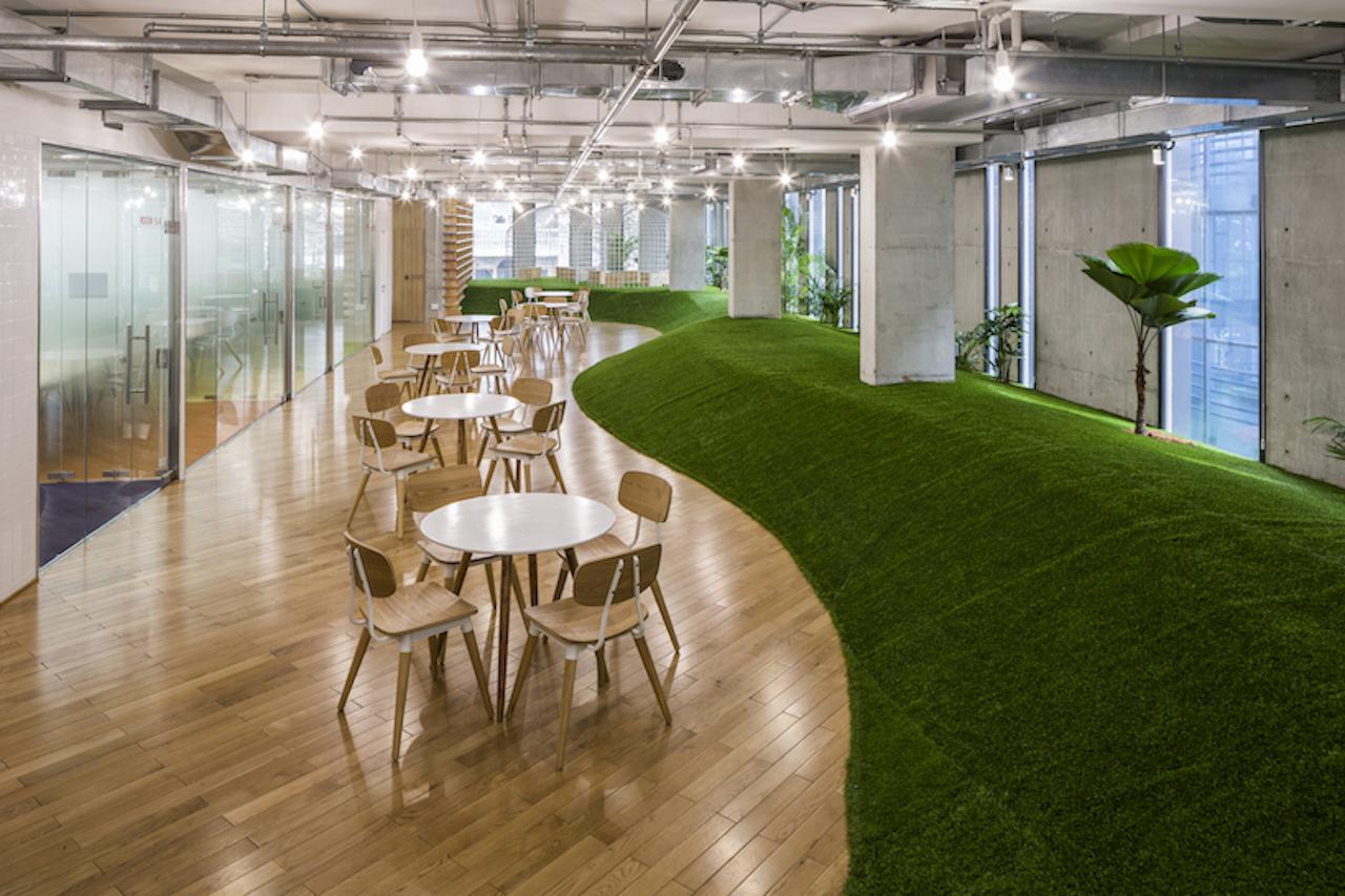 Ufficio In Giardino : L evoluzione dello spazio ufficio un giardino all interno