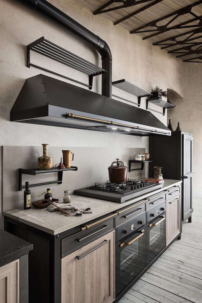 La cucina vintage Artre. La tradizione con la tecnologia dentro
