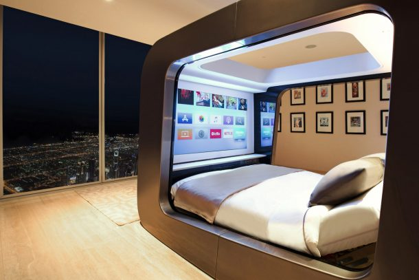 HiCan, lo smart bed di Hi-Interiors