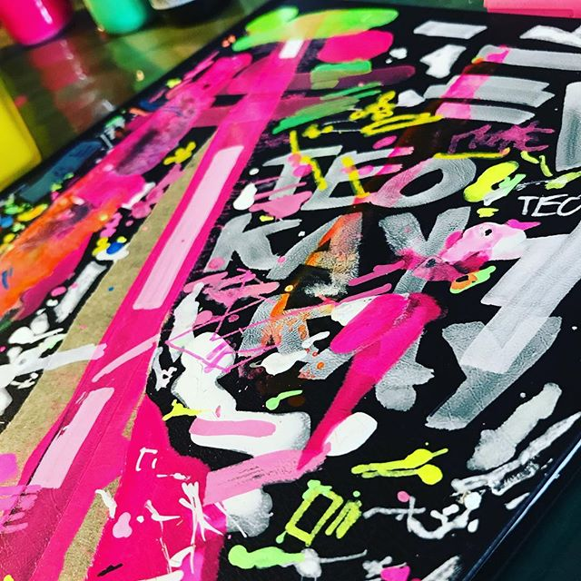 graffiti by Teo KayKay