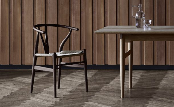 Wishbone Chair CH24. Design, Hans Wegner per Carl Hansen & Son