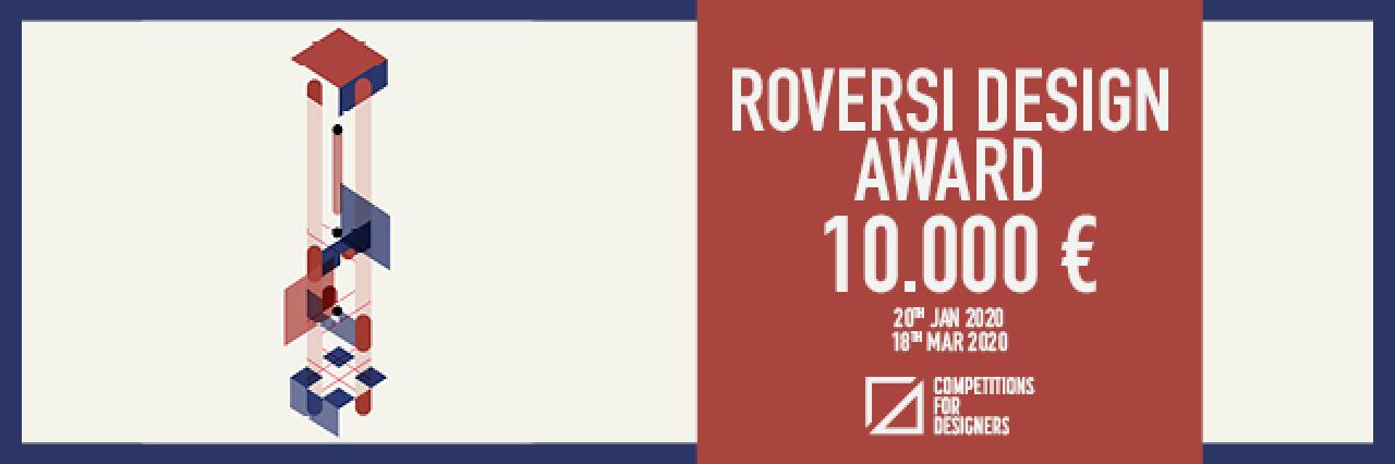 concorsi di design - Roversi Design Award
