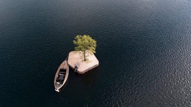 isola galleggiante