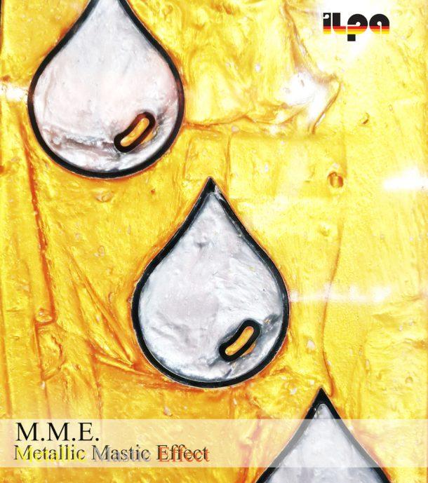 Metallic Mastic Effect: il mastice a base di resine sintetiche di Ilpa