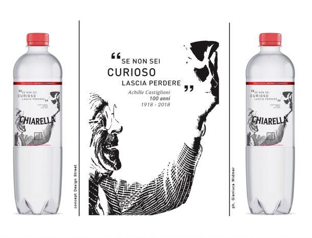 Acqua Chiarella - Achille Castiglioni Limited edition.