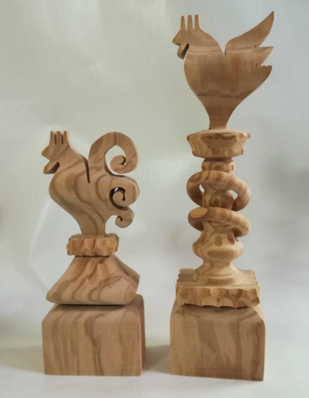 Fucina Madre Matera: timbri per il pane in legno
