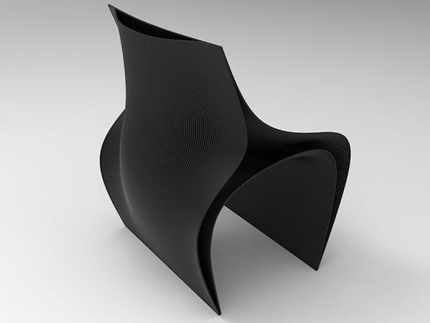 sedie stampate 3D