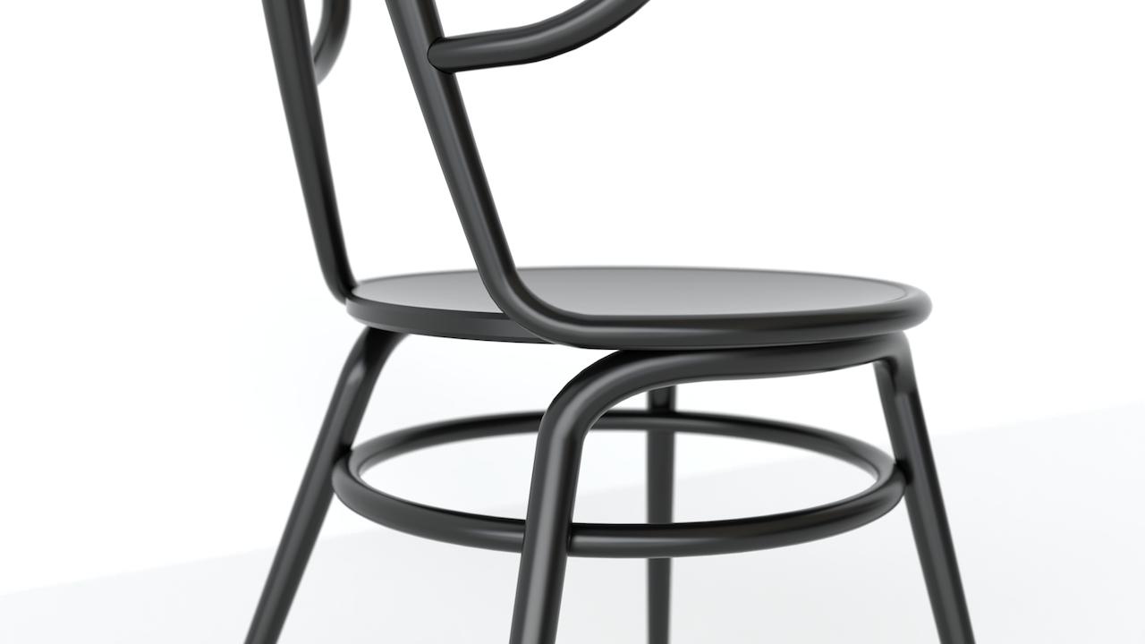 Sv18 la sedia in legno curvato inno alla gioia del for Sedia design legno curvato