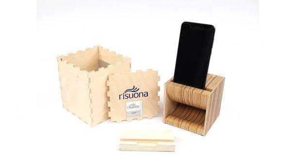 Risuona, lo speaker naturale per smartphone