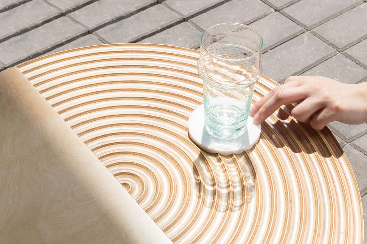 Giardino Zen Meditazione : Zen il tavolo ispirato al giardino giapponese design street