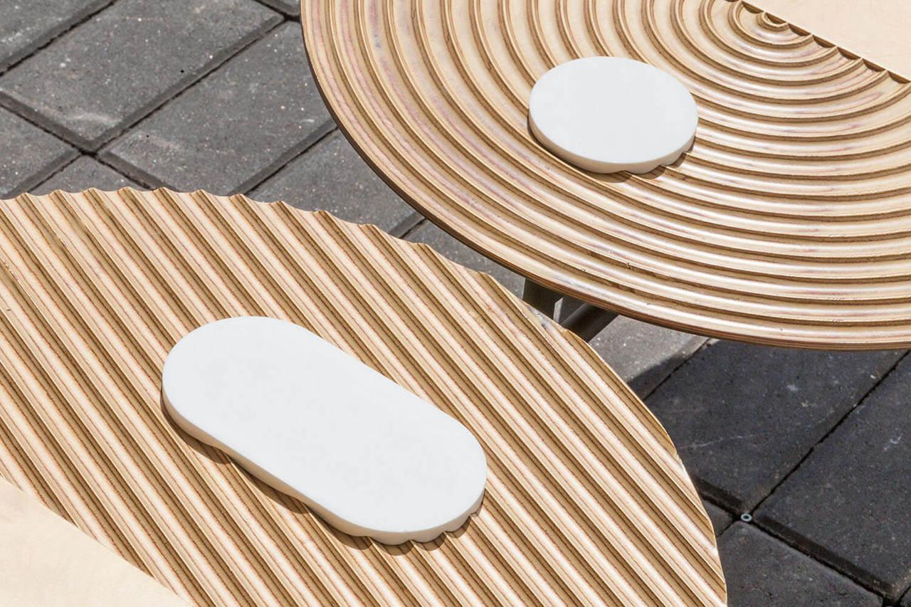 Zen il tavolo ispirato al giardino giapponese design street
