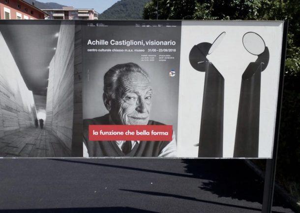 Mostra di Achille Castiglioni a Chiasso