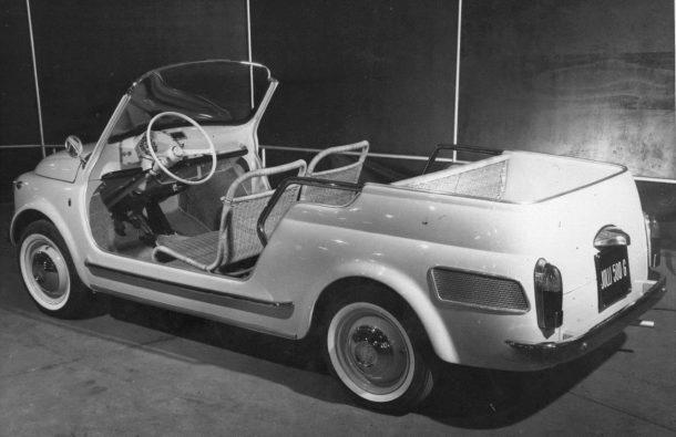 Fiat 500 Spiaggina 1958