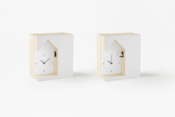 orologio a cucù minimal