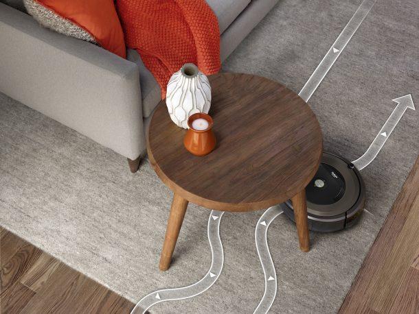 l'aspirapolvere Roomba 896 di iRobot