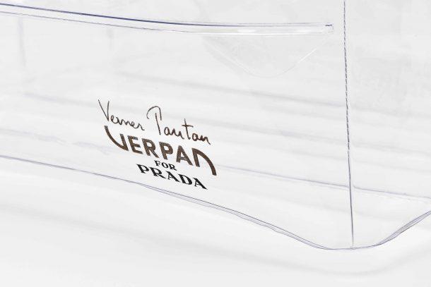 Inflatable Stool by Verner Panton. Verpan for Prada