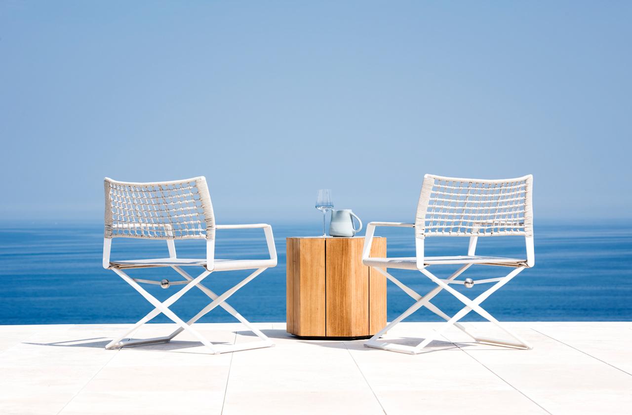 Le più belle sedute outdoor di design per arredare terrazzo e giardino