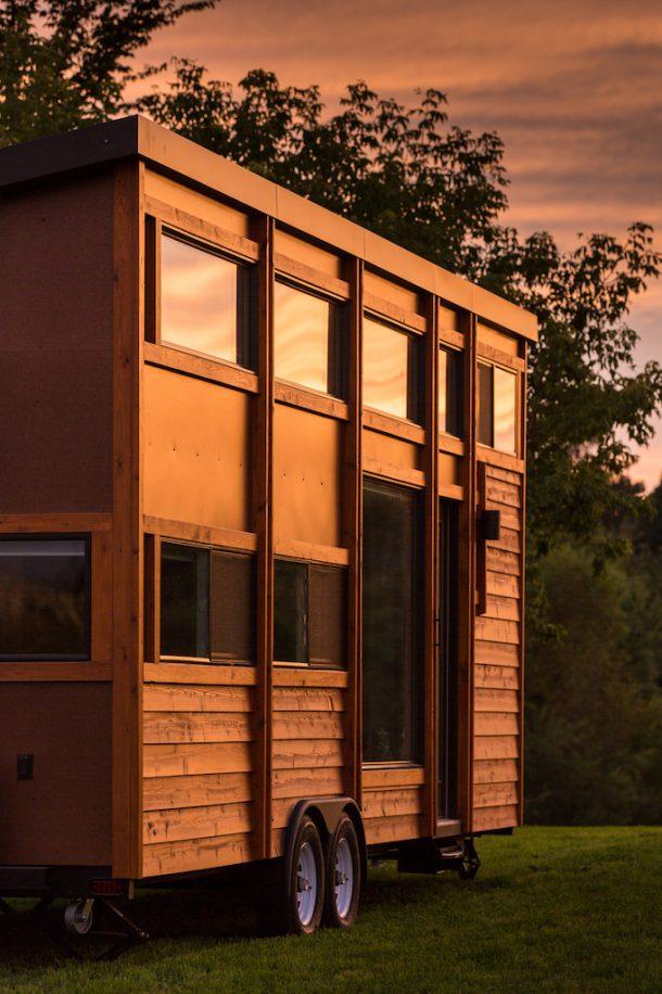 Le case mobili su ruote di design. Escape
