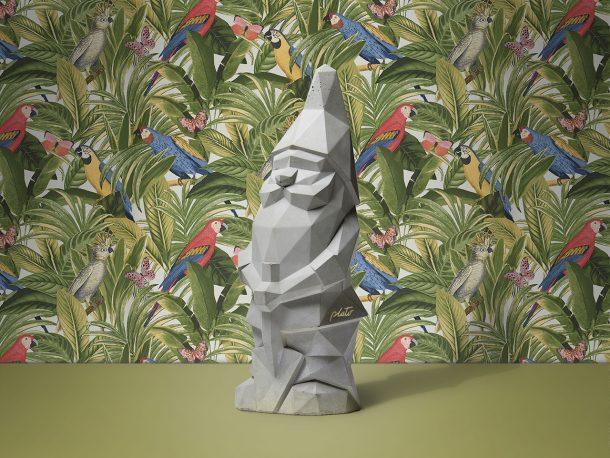 Nino, il nano di design da giardino in cemento