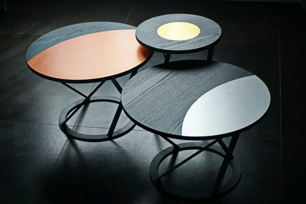I tavolini del ristorante Pank a Torino