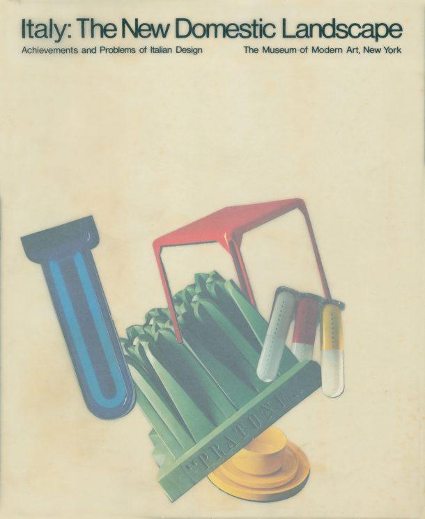 Copertina del catalogo: New domestic Landscape, Roma, NY, 1972